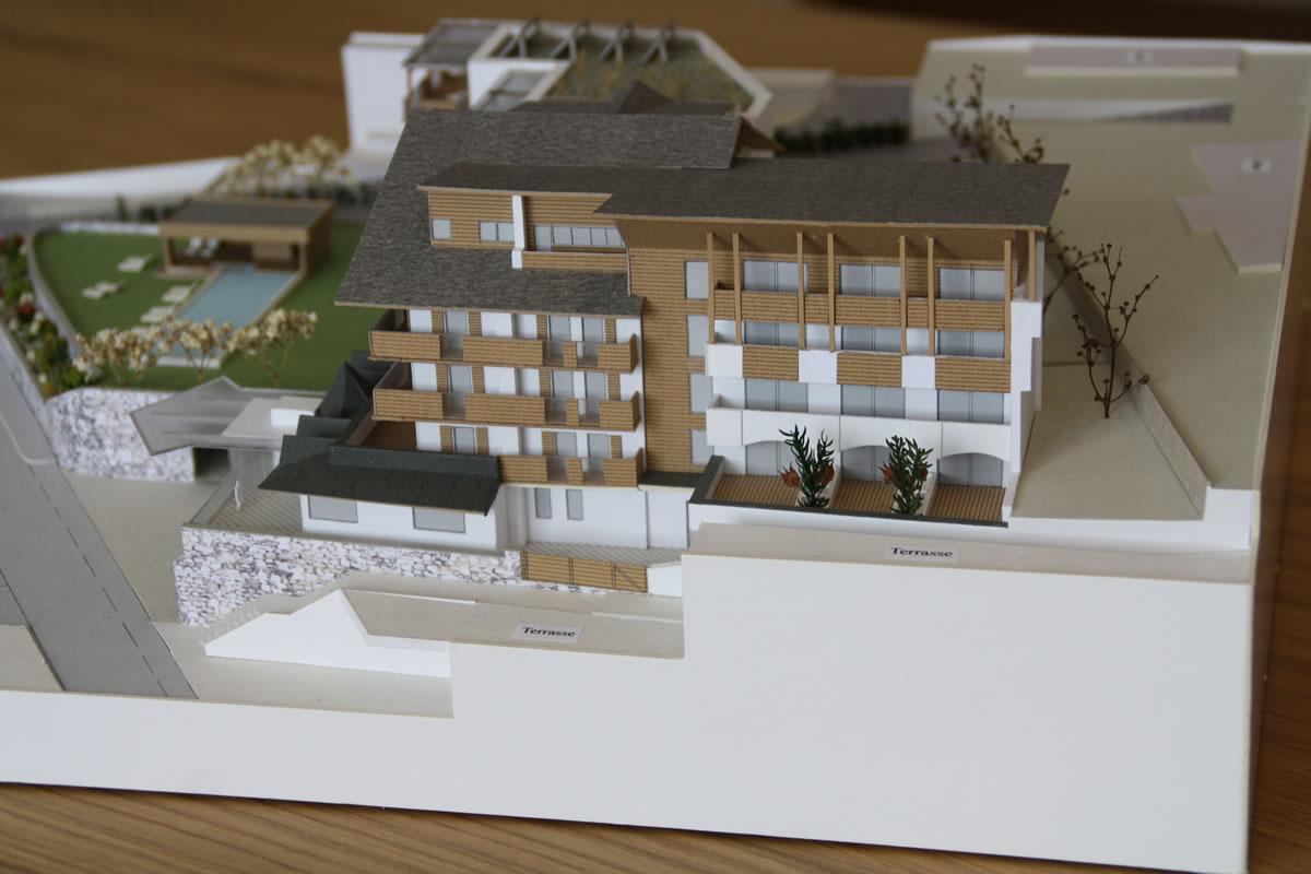 architektur modellbau modell br cke einfahrt gadertal. Black Bedroom Furniture Sets. Home Design Ideas