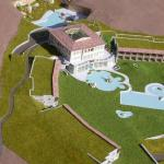 Architektur Modellbau: Wellnessresort Adler Thermae